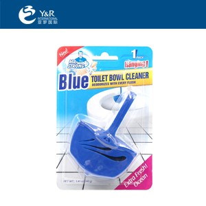 Toilet bowl cleaner with air freshener made in China